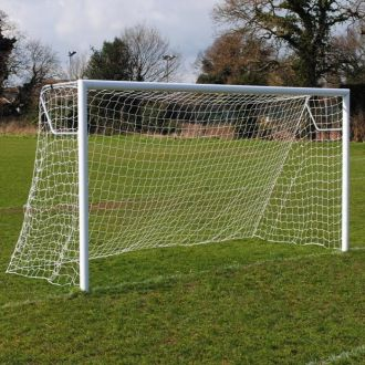 MH Aluminium Football Goals 12 x 6