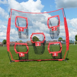 Shooting target net - 5 holes