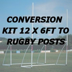 Goal Conversion Kit - 12' x 6' Goal to Rugby Post