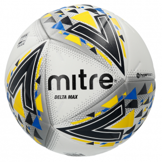 Mitre Delta Max Pro Football Ball - White