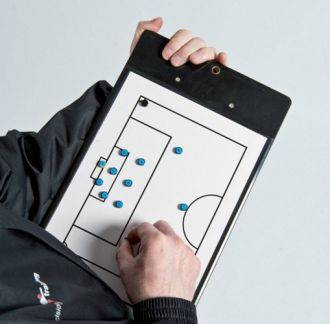 TR812 Pro Soccer Double-Sided Coaches Clipboard
