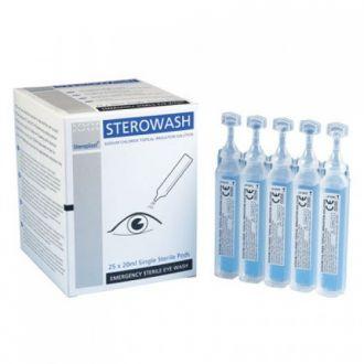 Sterile Eyewash Pods
