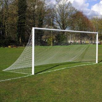 MH 21ft x 7ft Quick Release Aluminium Football Goal Package - Pair
