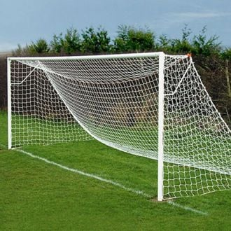 Full Size Continental Football Goal Post Nets 24 x 8ft - 4mm