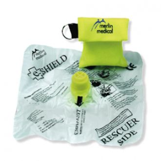 Resuscitation Face Shield with Key Fob