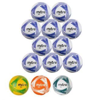Set of 10 Mitre Impel Footballs