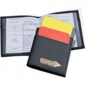 Referees Cards and Wallet
