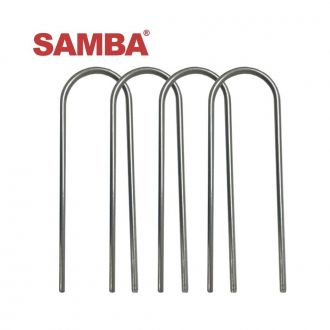 Set of 4 Steel Ground Anchors