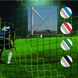 Full Size Striped Continental Football Nets