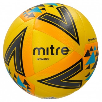 Mitre Ultimatch Football Ball - Yellow