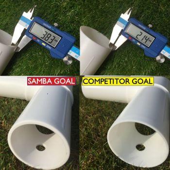 Samba 7 x 5ft Locking Football Goal Post