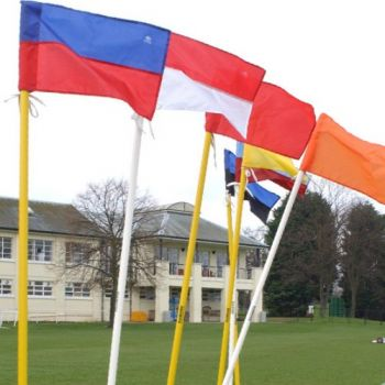 Football Corner Poles and Flags