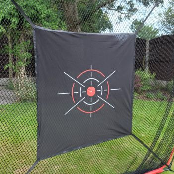 Golf Practice net with target