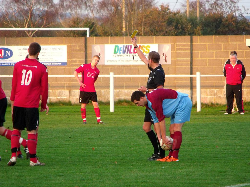 Grassroots Football Referees Face Growing Blackmail Problem