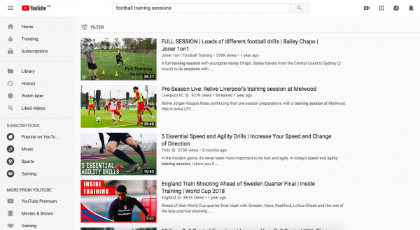Developing YouTube training sessions for your own team