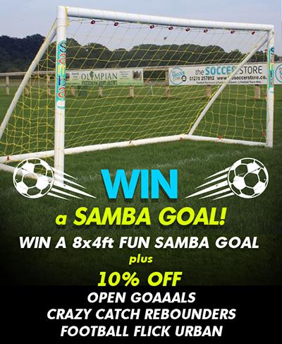 WIN a Samba 8x4ft Fun Goal