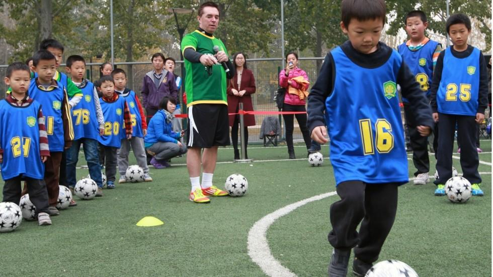 How Britain is Playing a Leading Role in the Chinese Football Revolution