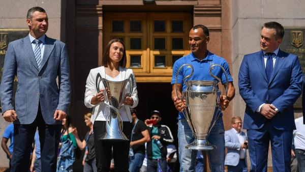 UEFA's Equal Game Initiative Lights Up Champions League Final Celebrations