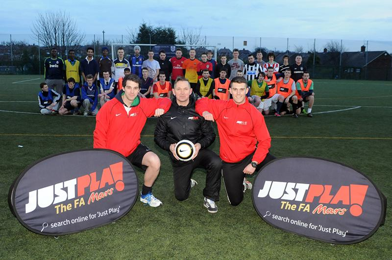 What is the FA's 'Just Play' Scheme?