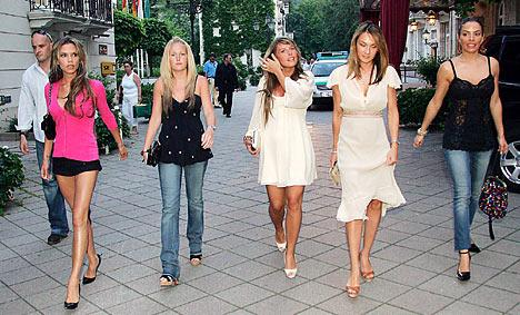 """5 of the Most Successful Football """"WAGs"""""""