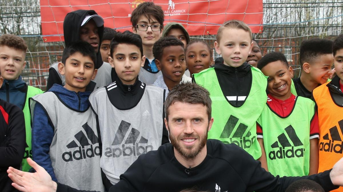 Michael Carrick Launches New Initiative with Manchester United Foundation