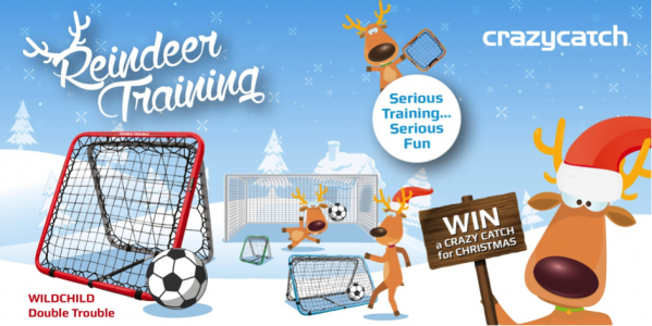 Win a Crazy Catch for Christmas – The Ultimate Rebound Net for Football