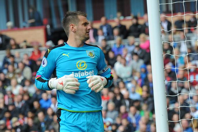 Tom Heaton Becomes the New Face of Precision Goalkeeping