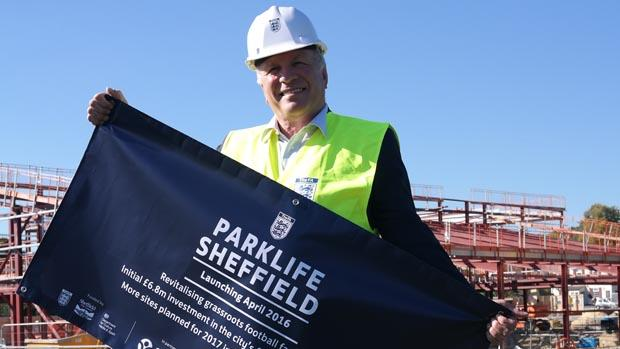 The FA's Parklife Football Hubs Programme Arrives in Sheffield