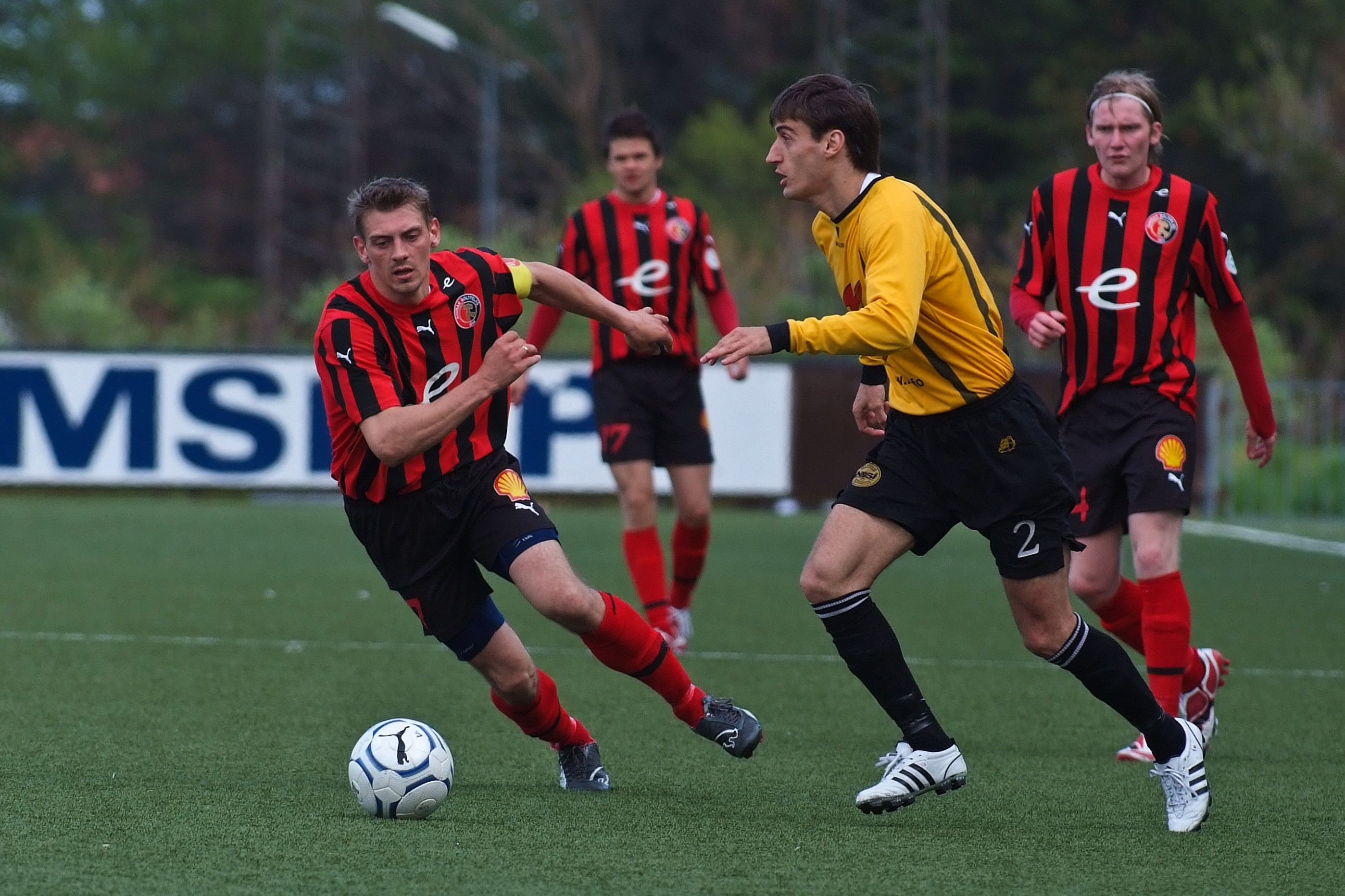 A local league football match