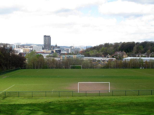Municipal football pitch