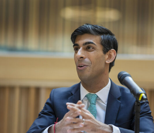 Rishi Sunak discusses funding for grassroots football