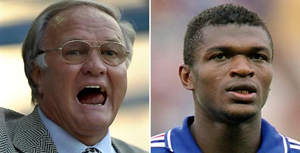 Big Ron Makes Racist Remarks About Desailly
