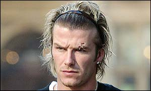 Fergie Throws Boot at Beckham
